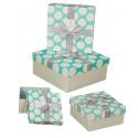 3 lü kare hediye kutusu